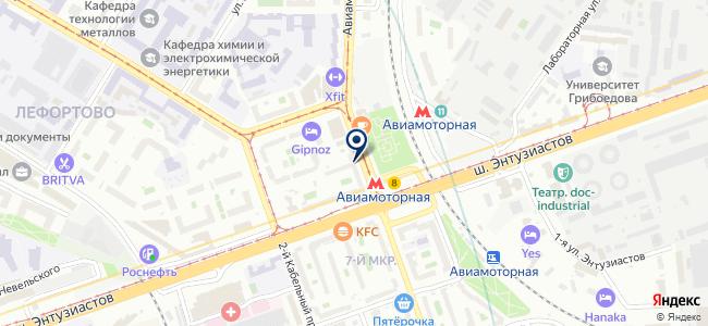 ВЕРАС на карте
