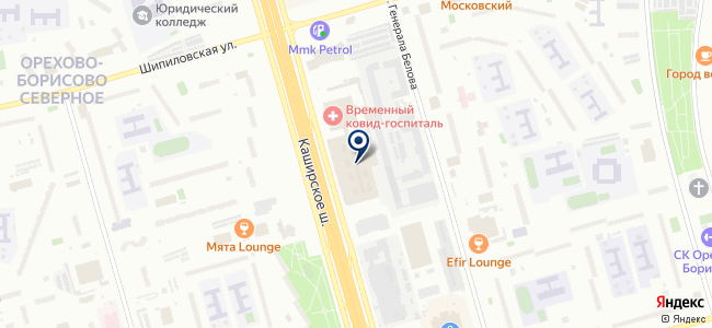 Moscow-HD на карте