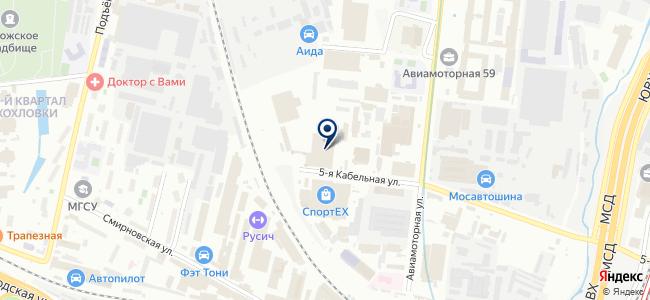 Автобусный парк №2 на карте