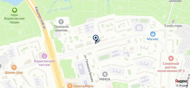 Магазин товаров для дома и ремонта на Борисовском проезде, вл5а на карте