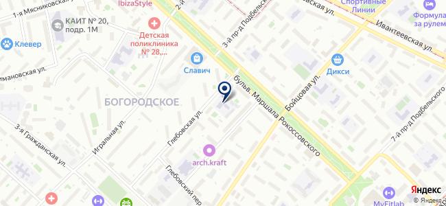 Ай-Профиль на карте