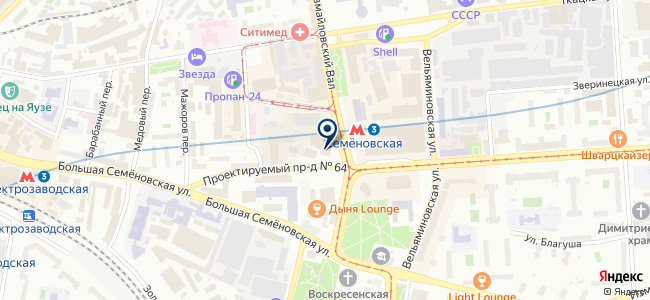 ГеоМетр на карте