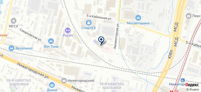 МВВБ на карте