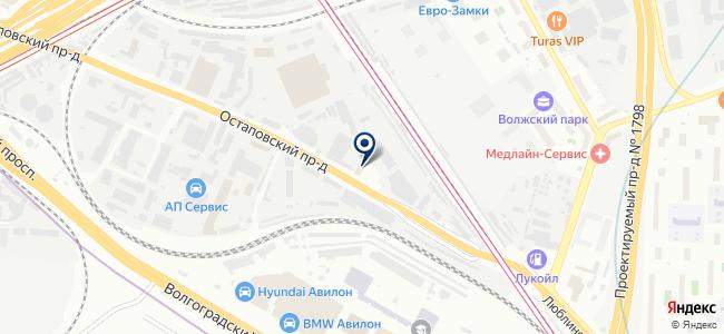 Прибор-комплект, ЗАО на карте