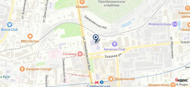 Альстом Грид, ЗАО на карте