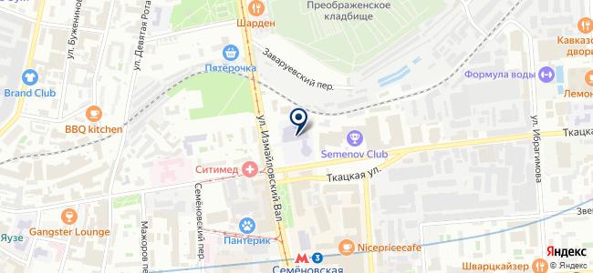Светум на карте
