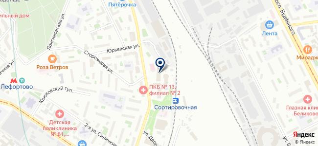 Лаб-электро на карте