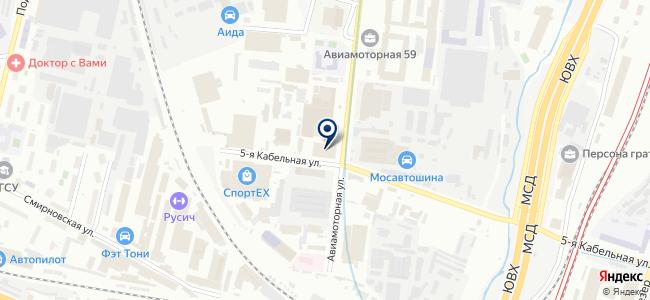 Дэк Москва на карте