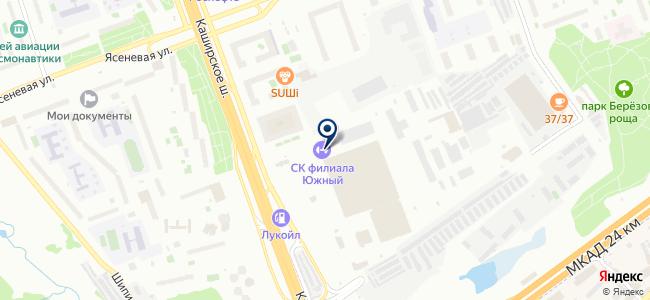 Автобусный парк №16 на карте