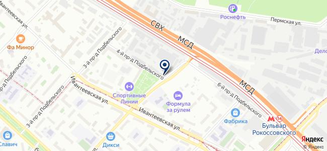 Константа-МСК на карте