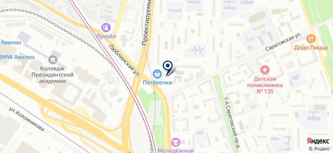 Фаворит-Электро на карте