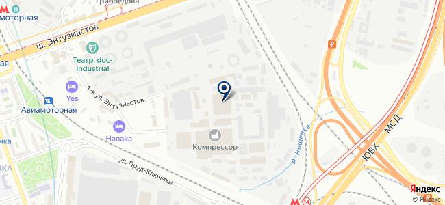 Инженерное Оборудование и системы, ЗАО на карте