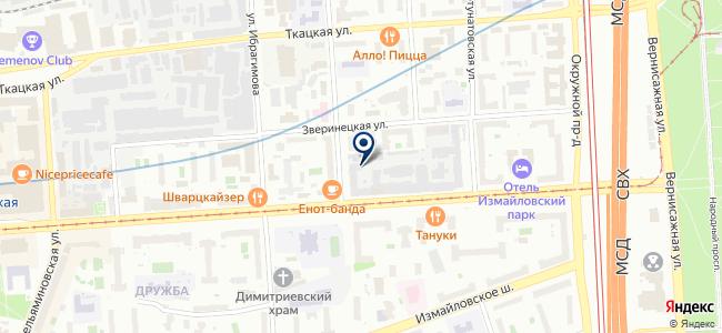 Евросервис на карте