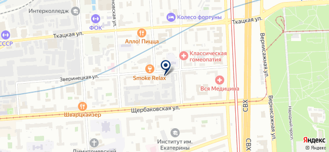 МИГ Электро на карте