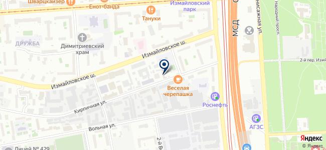Гидрометприбор, ОАО на карте