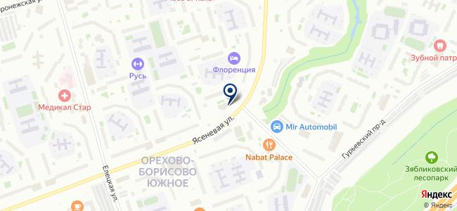 Магазин сантехники и электрики на Ясеневой, 39 на карте