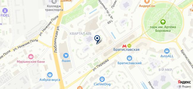 ПЕНТАдизайн-М на карте