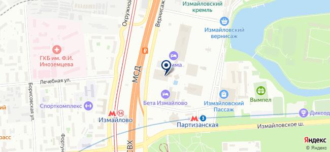 Opticplot на карте