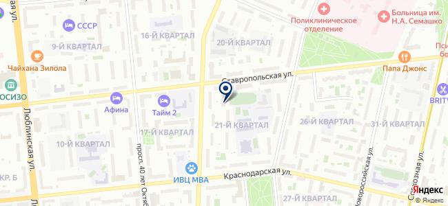 Бибус на карте