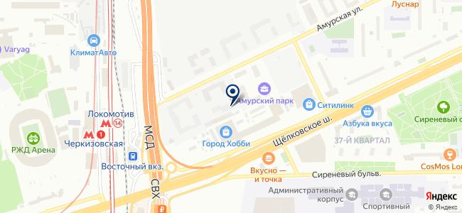 ATB electro на карте