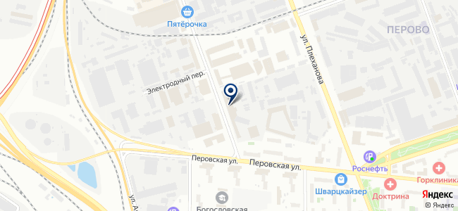 Люмин-Электро на карте