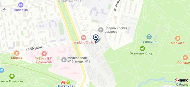 Навигатор, ЗАО на карте