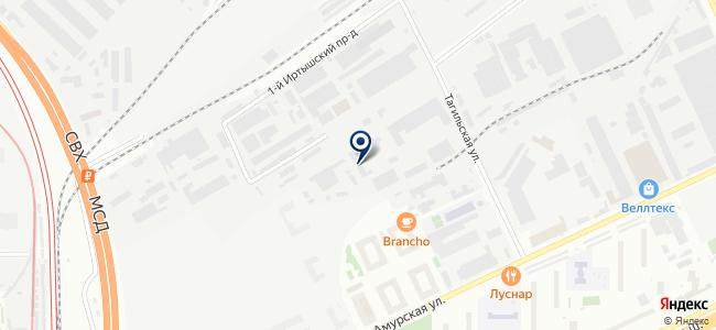 Профи-Лайн на карте