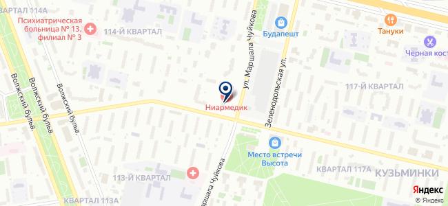 Метротрансстрой на карте