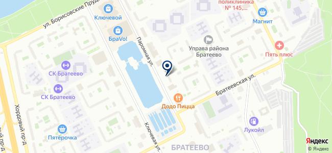 Магазин светотехники на Паромной, 9 к1 на карте