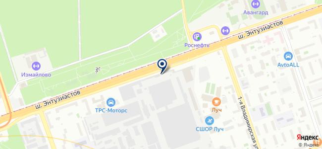 Салон света на карте