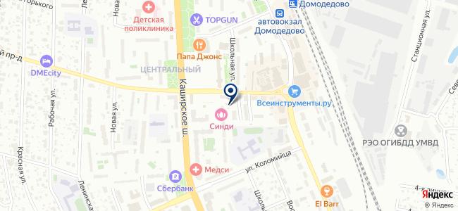 Текс на карте