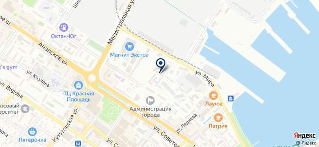 Черноморский экспресс на карте