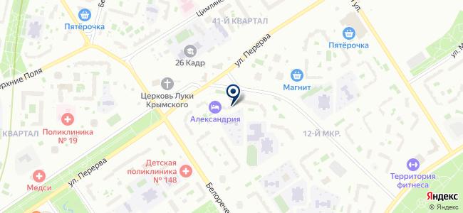Регарда, ООО на карте