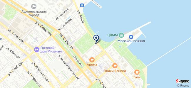 Novosat на карте