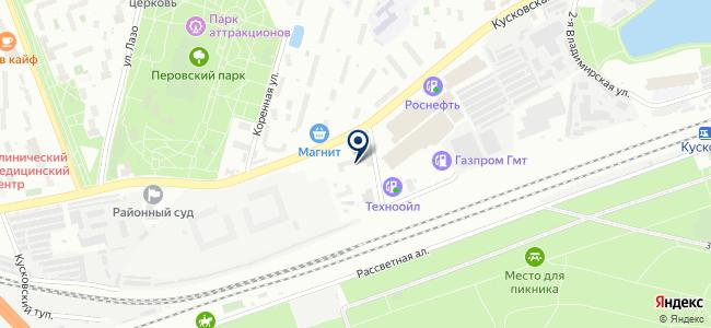 АСБКО на карте