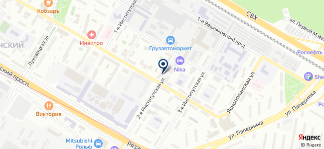 S & O на карте