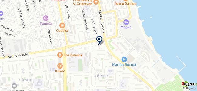 Аскания, ООО на карте