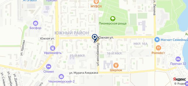 ВЭМ-ЮГ на карте