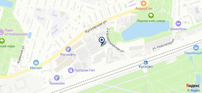Олимп-Металл на карте