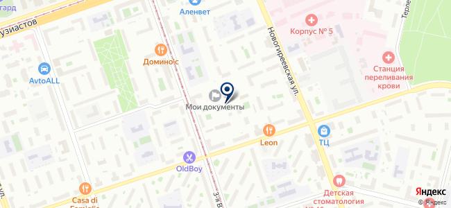 Металл-Сервис, ООО на карте