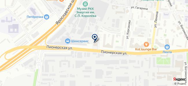 Калибр на карте