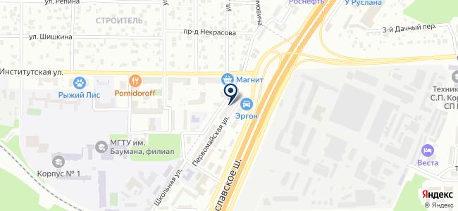 Рэбиз на карте