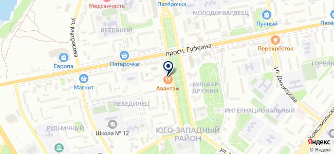 Авантаж-электромонтаж, ООО на карте