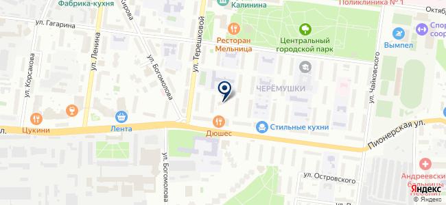 Прибор-М на карте
