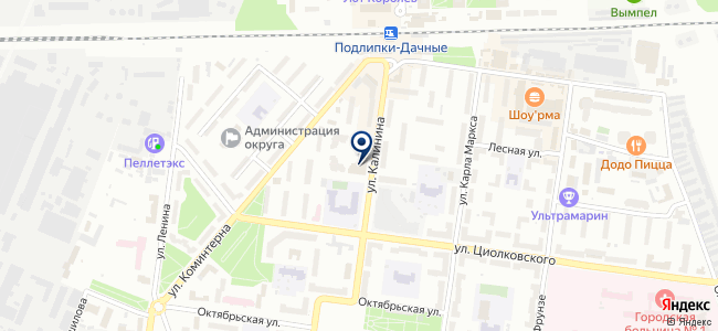 Информ Парк на карте