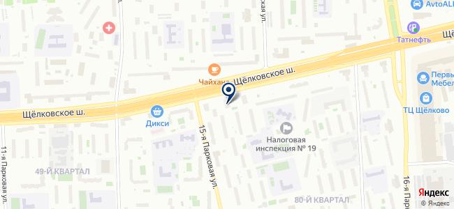 Магазин товаров для дома на карте