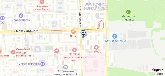 Электро-Ника на карте