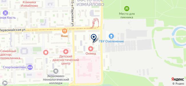 ТехноТрейдинг на карте