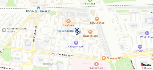 МаксПрофит на карте