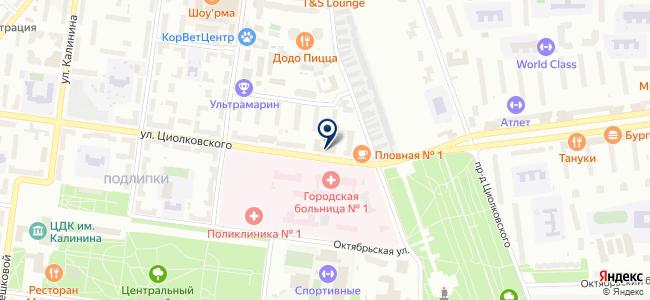 АМТ Энерго на карте